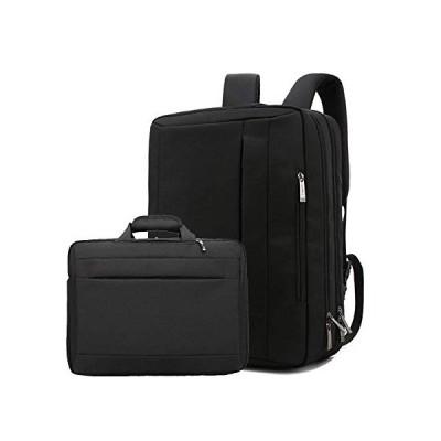 TOOSD Laptop Backpack Multi-Function Bag 17.3Inch Backpack Waterproof Wear-Resistant Oxford Cloth Nylon Messenger Bag Unisex Handbag Business Briefcas