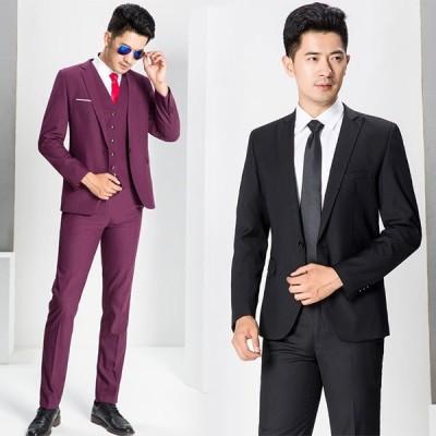 ビジネススーツ パンツスーツ メンズ スーツ 2点セット スリムフィット 洗えるパンツウォッシャブル 全店2点送料無料