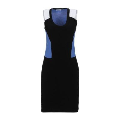 ビッケンバーグ BIKKEMBERGS ミニワンピース&ドレス ブラック M レーヨン 70% / ポリエステル 30% ミニワンピース&ドレス