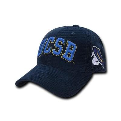 ユニセックス スポーツリーグ アメリカ大学スポーツ NCAA UCSB UC Santa Barbara Gruchos Structured Corduroy Baseball Caps Hats Nav