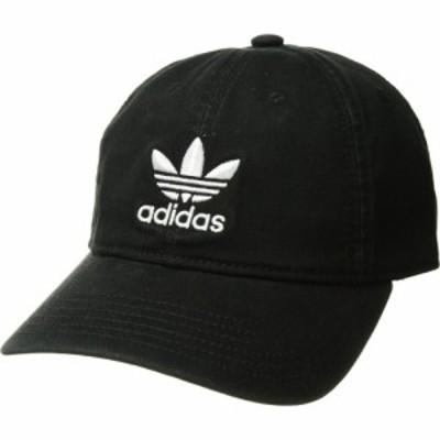 アディダス adidas Originals レディース キャップ 帽子 Originals Relaxed Strapback Cap Black/White