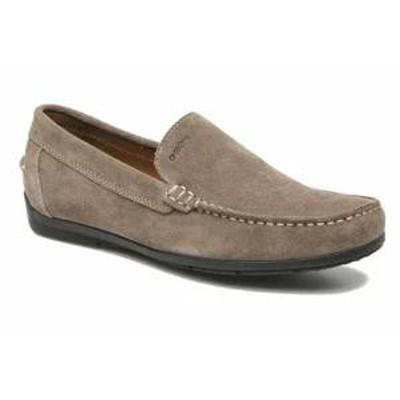 Geox メンズシューズ Loafers U SIMON A U32Q3A Grey Taupe