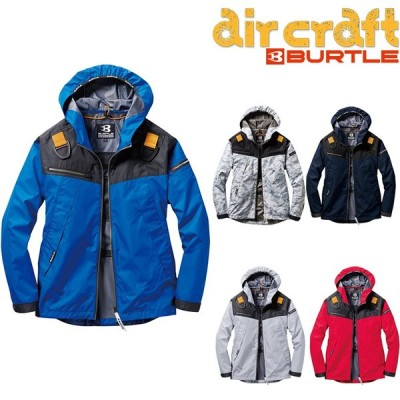 【5%オフクーポン】バートル BURTLE 空調服 AC1091  エアークラフト パーカー 長袖 ジャケット