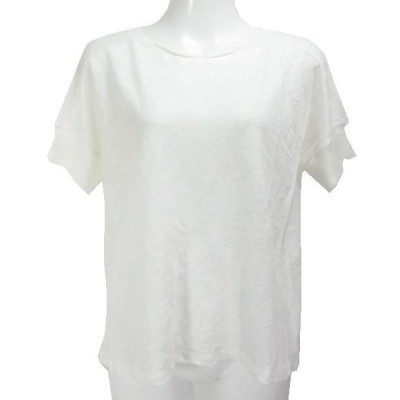 コムサイズム ONIGIRI 白 半袖 ニット 9 未使用