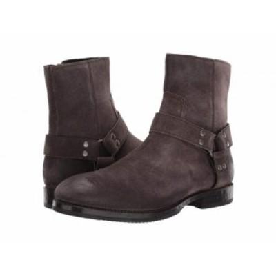 Frye フライ メンズ 男性用 シューズ 靴 ブーツ ライダーブーツ Nelson Harness Grigio Distressed Suede【送料無料】
