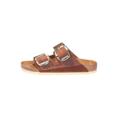 ビルケンシュトック サンダル レディース シューズ Slippers - brown
