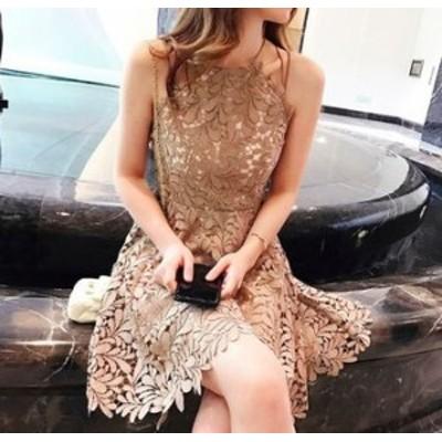 ワンピースドレス ワンピース ドレス 結婚式ドレス 総レースで上品なフレアワンピースドレス ワンピース ドレス a0029