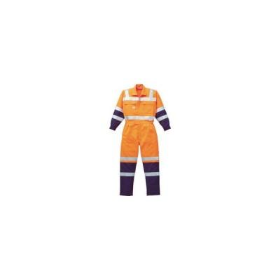 YAMADATATSU/山田辰  AUTO-BI/オートバイ 高視認ツナギ服 Lサイズ オレンジ 7620-OR-L