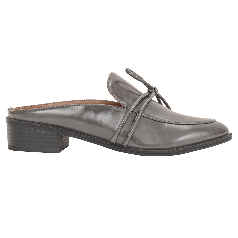 牛津拖鞋 - 灰色