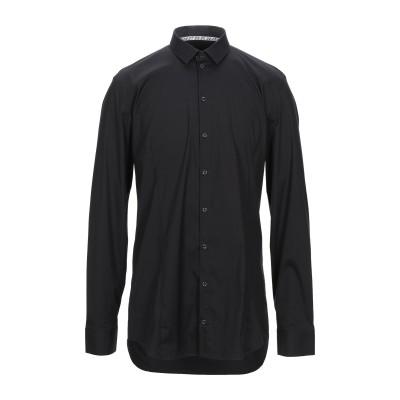 パトリツィア ペペ PATRIZIA PEPE シャツ ブラック 54 コットン 67% / ナイロン 27% / ポリウレタン 6% シャツ