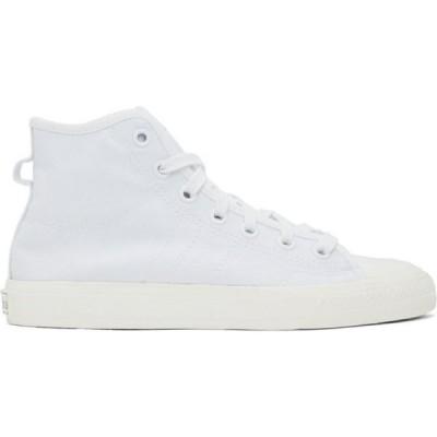 アディダス adidas Originals メンズ スニーカー シューズ・靴 White Nizza RF Hi Sneakers White