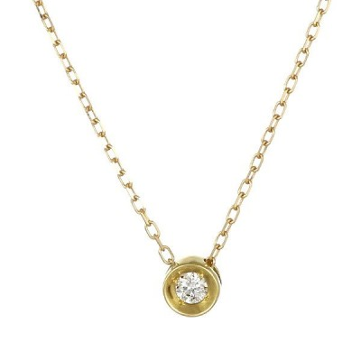 ネックレス レディース 天然石 ネックレス ダイヤモンド K18 シンプル プレゼント【今だけ代引手数料無料】