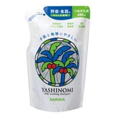 サラヤ ヤシノミ洗剤 つめかえ用 480ml 4973512320477