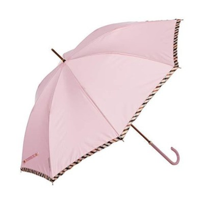 [ムーンバット] DAKS(ダックス) レディース傘 軽量 日本製 安全ロクロ 撥水 長傘 フリル ピンク DKS 婦人長 Pド?