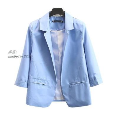 Blazer Women Spring Autumn Solid Candy Color Jackets Suit Slim yards Ladies Blazers Work Wear Jacket 2019 グループ上 レディース衣服 から ブレザー