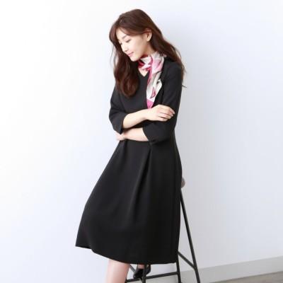 【Sサイズ〜】トリアセテートストレッチ ドレス