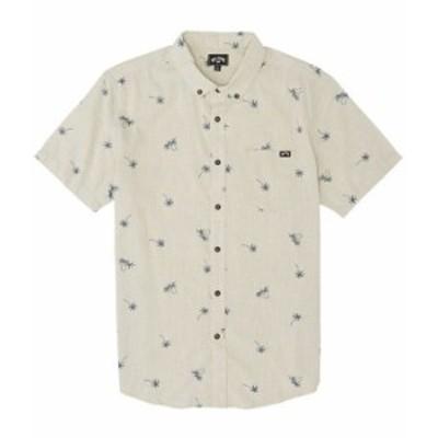 ビラボン メンズ シャツ トップス Sundays Mini Short-Sleeve Shirt Stone
