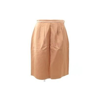 アナイ(ANAYI)オレンジスカート 38
