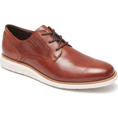 ロックポート ROCKPORT メンズ 革靴・ビジネスシューズ ダービーシューズ シューズ・靴 Total Motion Sport Plain Toe Derby Tan Leather
