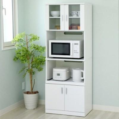 [スライド棚・コンセント付き] SIMシリーズ レンジボード FAP-0016 幅60cm 収納 キッチン 台所 ラック 棚 食器 キッチンラック ハイタイ