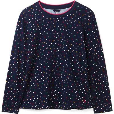 ジュールズ Joules レディース 長袖Tシャツ トップス selma print long sleeve t-shirt Multi Spot