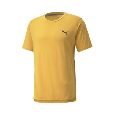【プーマ】 トレーニング CLOUDSPUN ショートスリーブ  Tシャツ メンズ MINERALYELLOW XL PUMA
