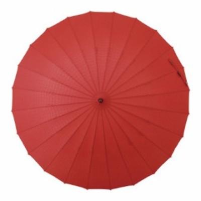 マブ 超軽量24本骨傘 江戸 紅(B) (SMV-40292) 単品