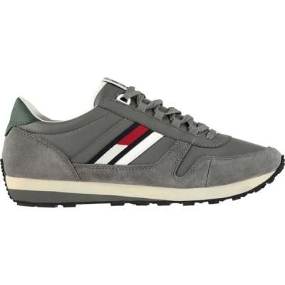 トミー ジーンズ Tommy Jeans メンズ スニーカー シューズ・靴 Runner Trainers Grey