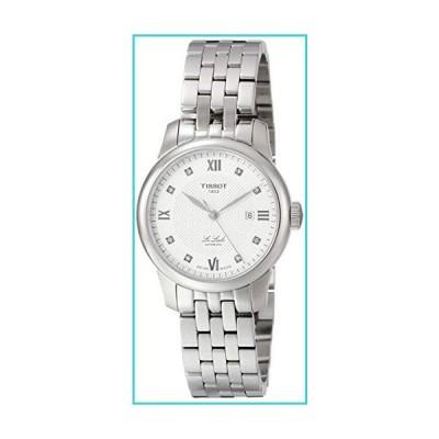 Tissot Le Locle Automatic Diamond Silver Dial Ladies Watch T006.207.11.036.00【並行輸入品】