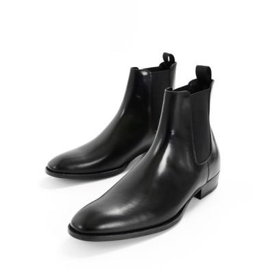 minsobi / 【minsobi】「プレミアムエディーション」牛革 チェルシーブーツ MEN シューズ > ブーツ