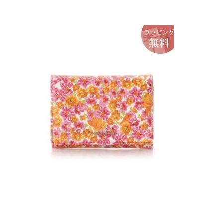 サマンサタバサ 財布 折財布 ガーデンフラワー マゼンタ Samantha Thavasa