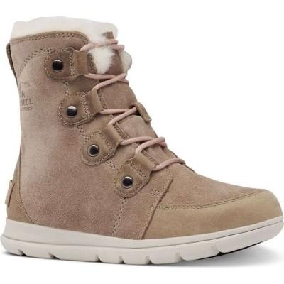 ソレル Sorel レディース ブーツ ブーティー シューズ・靴 Explorer Joan Waterproof Booties Ash Brown