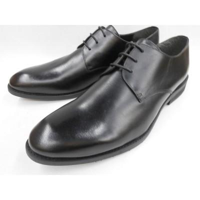 Robe pleine(ロベプラン) 激安マッケイ式 本革ビジネスシューズ プレーントゥ RP-3001(ブラック) メンズ 靴