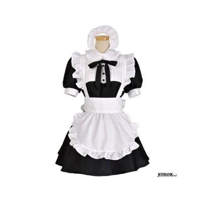 NEWモノトーンカラーメイド服 ハウスメイド ミニタイプ コスプレ メイド服