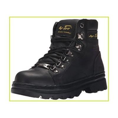 "Adtec Women's 6"" Steel Toe Work Work Boot, Black, 6.5 M US【並行輸入品】"