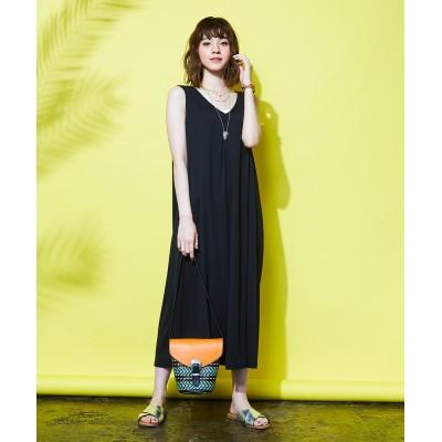 【大きいサイズ】 Aラインワンピース 薄手素材 ワンピース, plus size dress