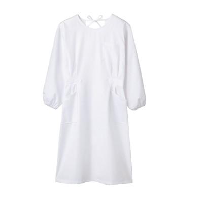 MONTBLANC 74-061 予防衣(長袖)(女性用) ナースウェア・白衣・介護ウェア