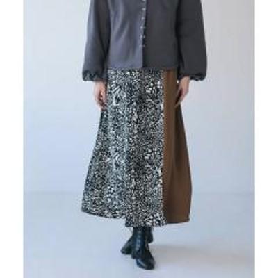 Bou Jeloud(ブージュルード)レオパードスカート