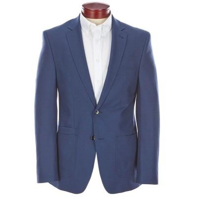 ムラノ メンズ ジャケット&ブルゾン アウター Collezione Slim-Fit Performance Bi-Stretch Wool Blend Suit Separates Blazer Blue