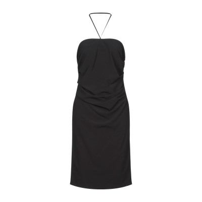 ELISABETTA FRANCHI for CELYN b. ミニワンピース&ドレス ブラック 44 ポリエステル 89% / ナイロン 11%