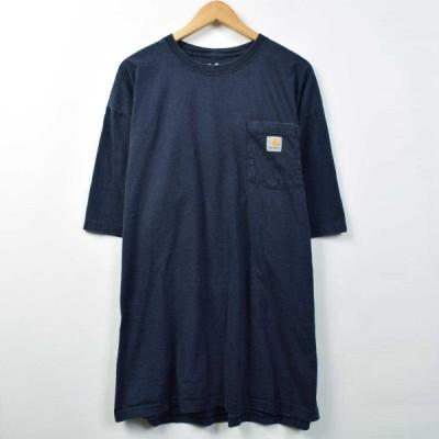 カーハート ワンポイントロゴポケットTシャツ XXXL /eaa039282
