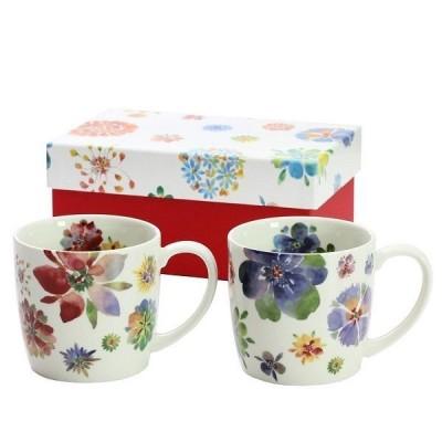 彩遊花 ペアマグカップ