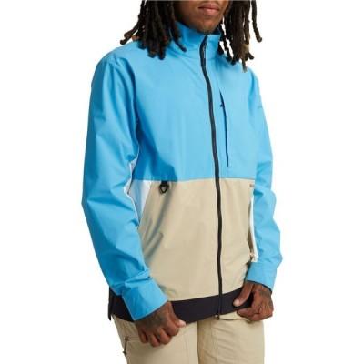バートン Burton メンズ ジャケット シェルジャケット アウター multipath shell jacket Cyan/Safari/True Black