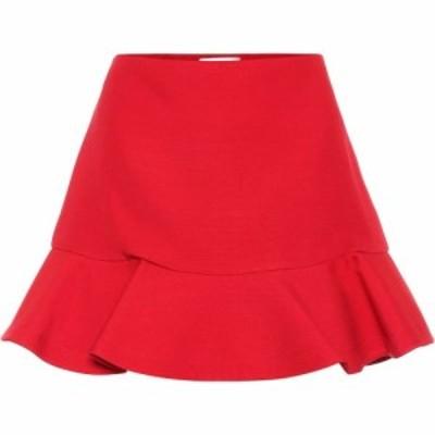 ヴァレンティノ Valentino レディース ミニスカート スカート Wool And Silk Crepe Miniskirt