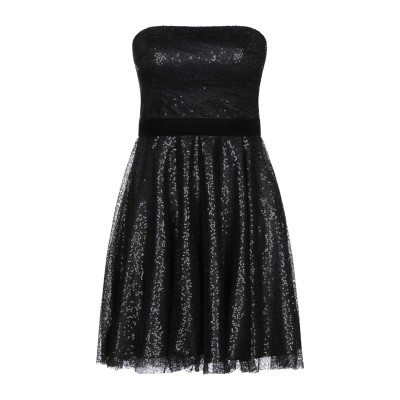 ブルーガール ブルマリン BLUGIRL BLUMARINE ミニワンピース&ドレス ブラック 40 ナイロン 100% ミニワンピース&ドレス