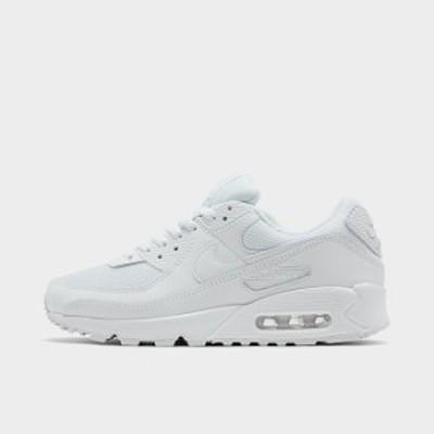 ナイキ メンズ Nike Air Max 90 スニーカー White/White/White/Wolf Grey エアマックス 90