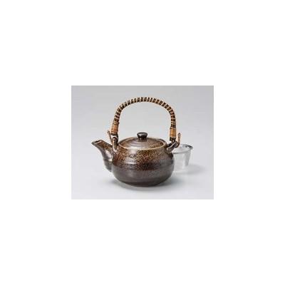 和食器 イ391-237 備前風土瓶(茶こし付)