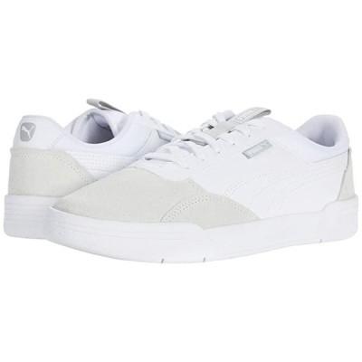プーマ C-Skate メンズ スニーカー 靴 シューズ Puma White/Puma White