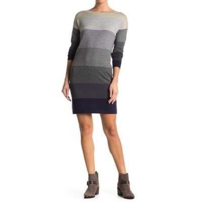 ラブスティッチ レディース ワンピース トップス Colorblock Sweater Dress H.ECLIPSE/H.PEWTER/LT.H.GREY