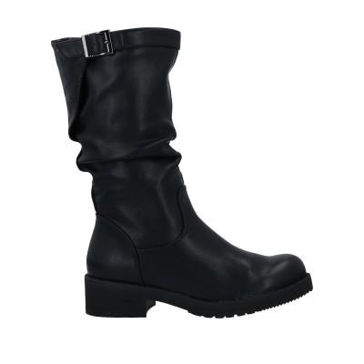 TSD12 ブーツ ブラック 36 紡績繊維 ブーツ